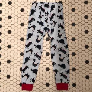 GYMBOREE PAJAMA Pants Boy's 6 Dinosaur Blue Cotton
